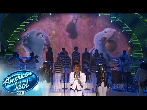 "Top  9 Results -- Janelle Monáe ""What Is Love"" - AMERICAN IDOL SEASON XIII"